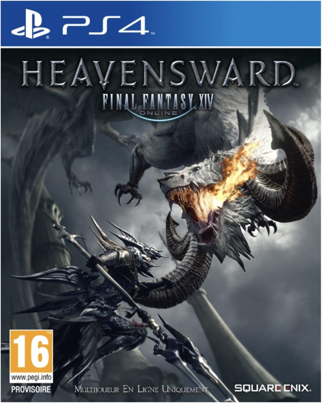 Jeu Final Fantasy XIV Heavensword sur PS4