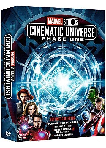 Coffret DVD : Marvel Studios Cinematic Universe : Phase Une - 6 films