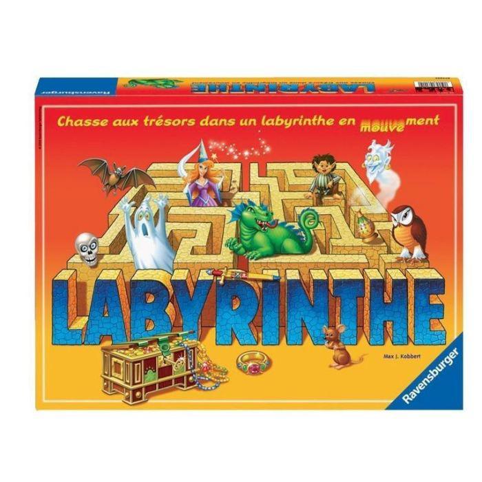 2 Boîtes de jeux : Labyrinthe et Croque carotte (ODR de 14,94€ + 20% crédités sur la carte fidélité + 20% supplémentaires aux porteurs de la carte PASS)