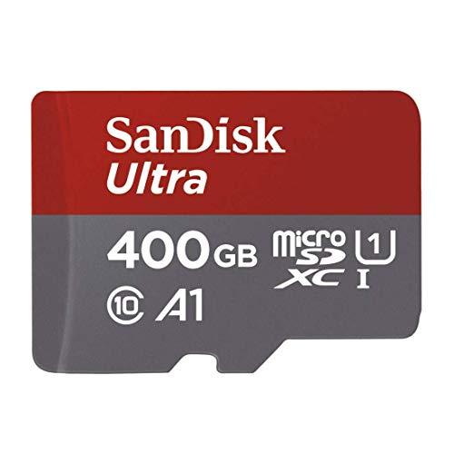 Carte mémoire microSDXC SanDisk Ultra 400 Go + Adaptateur SD