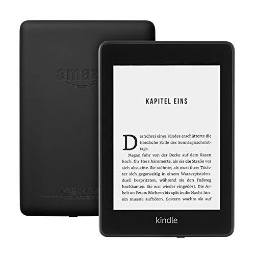 """Liseuse 6"""" Kindle Paperwhite - Résistant à l'eau, 8 Go, Noir"""