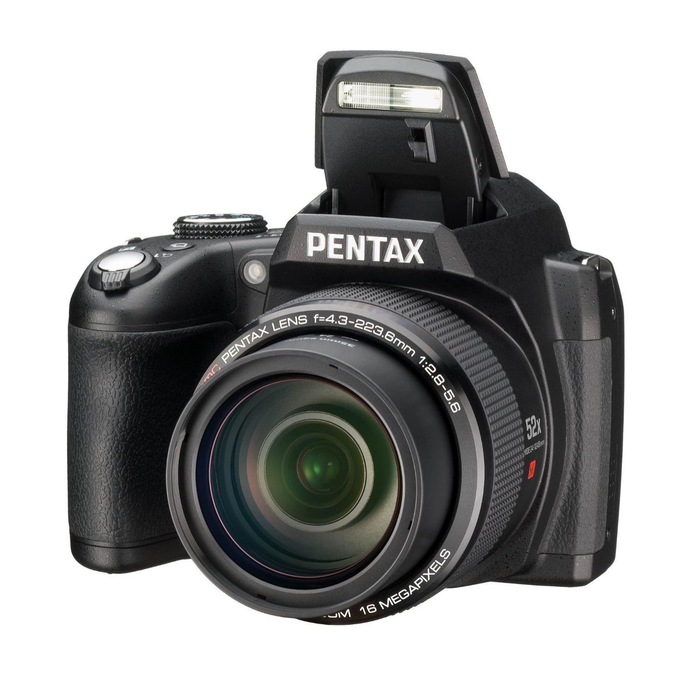 Appareil photo bridge Pentax X-G1 (16 Mpix, Zoom Optique 52x) - Noir