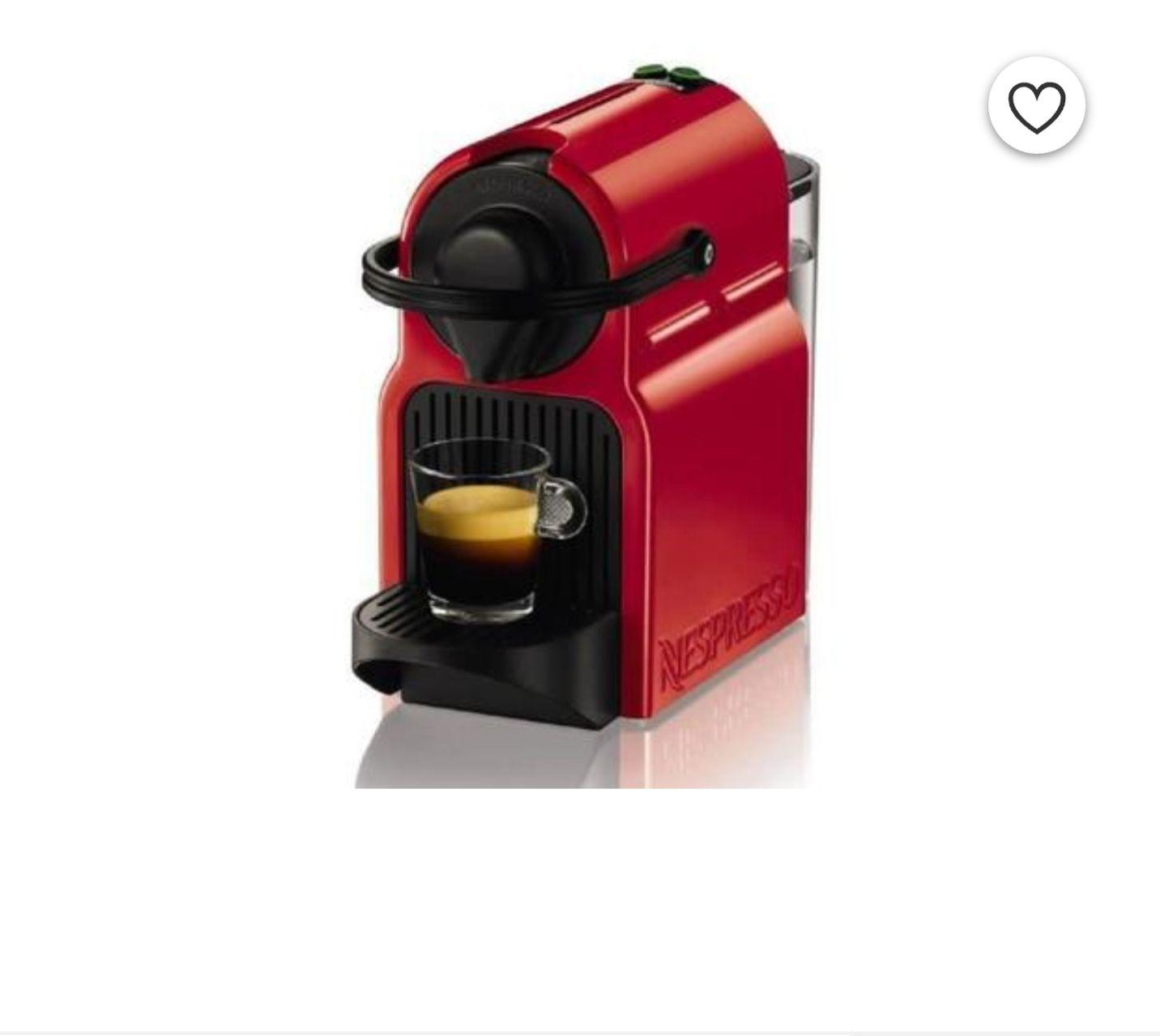 Machine expresso à capsules Krups Inissia YY1531FD - Rouge rubis