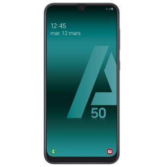 """Smartphone 6.4"""" Samsung Galaxy A50 - Double SIM, 128 Go, Noir (vendeur tiers)"""