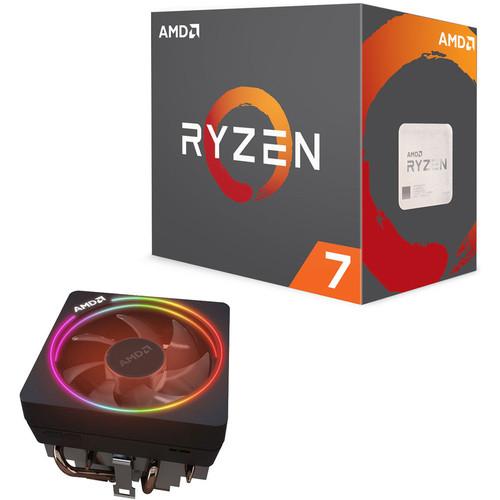 Processeur AMD Ryzen 7 1700X (3.4 GHz) + AMD Wraith Prism rev.A - Socket AM4