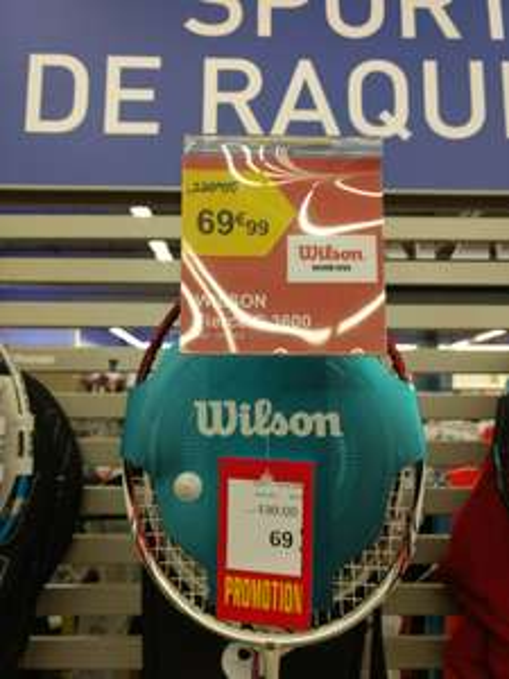 Raquette de badminton Wilson Fierce C3600 - Glisy (80)