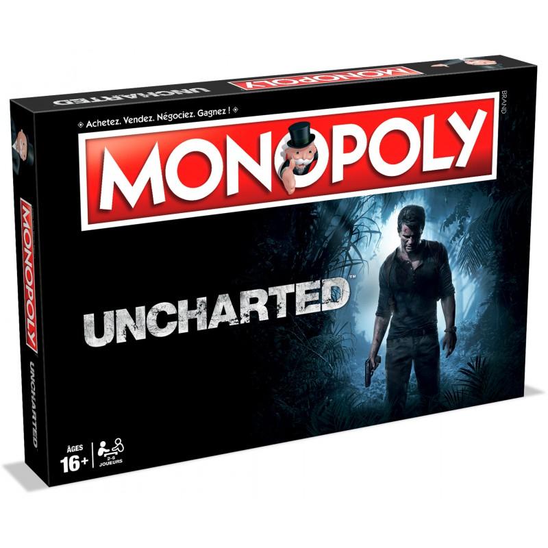 Jeu de société Monopoly Uncharted Winning Moves