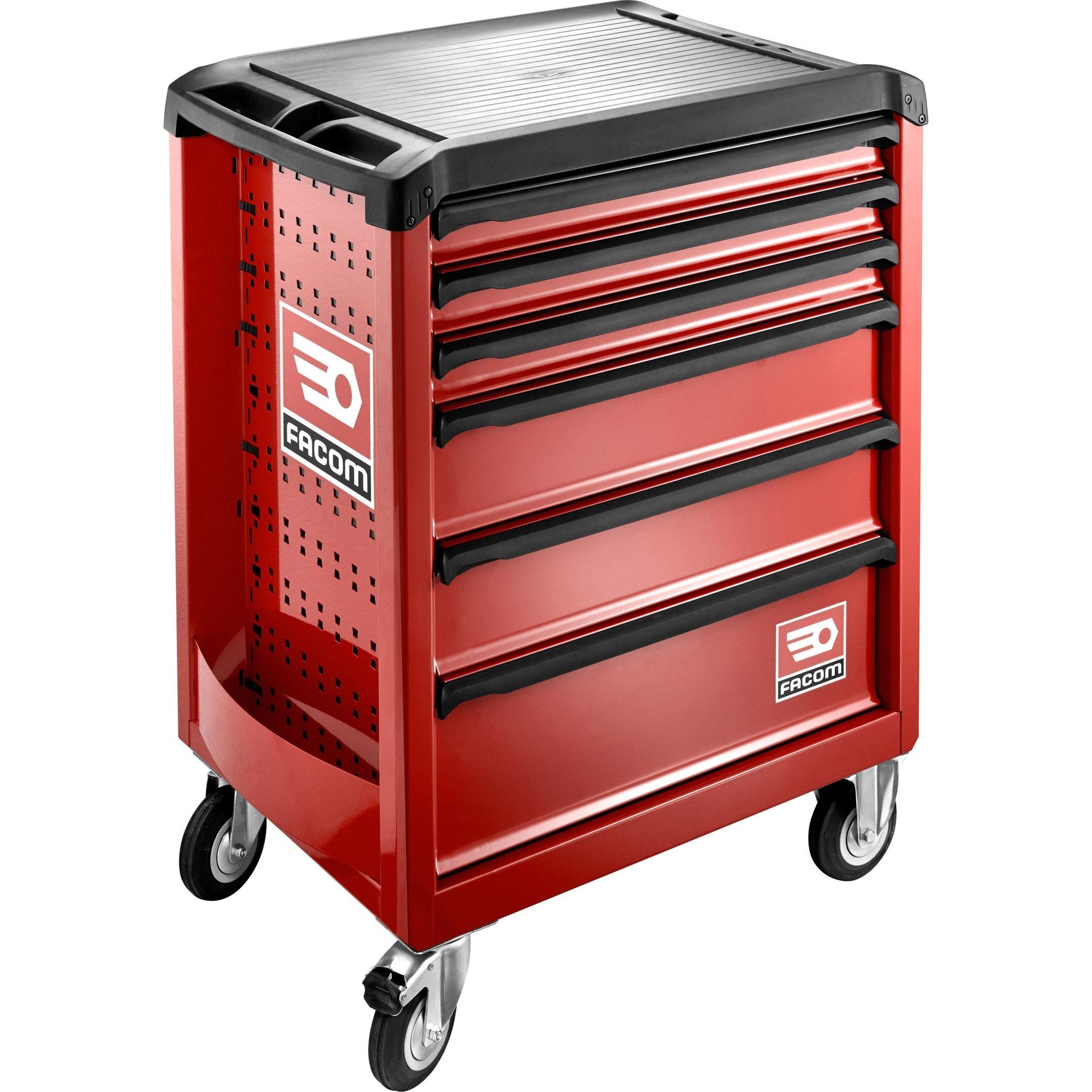 10€ remboursés tous les 70€ sur la gamme Grand Public Facom (60€ max) - Ex : Servante d'atelier Facom ROLL.6M3PG - 6 tiroirs (via ODR 50€)