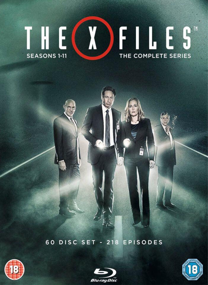 The X-Files Complete - Seasons 1-11 en bluray