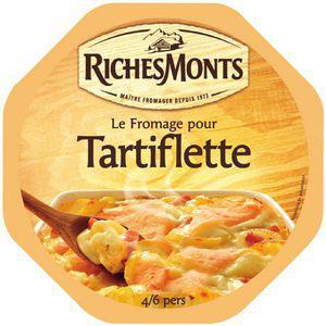 3 Fromages à Tartiflette Richesmonts gratuits - 3x450g avec gain de 0.51€ (Via ODR + 10.41 remise fidélité)