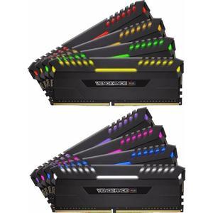 Mémoire RAM DDR4 Corsair Vengeance RGB 64 Go (8 x 8 Go) - 2666 MHz, CL16