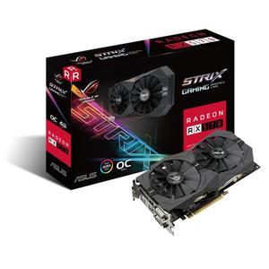 Carte graphique Asus  AMD Radeon RX 570 Rog Strix OC - 4 Go