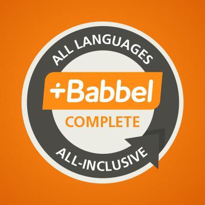 Abonnement annuel à l'apprentissage des langues - Toutes les langues