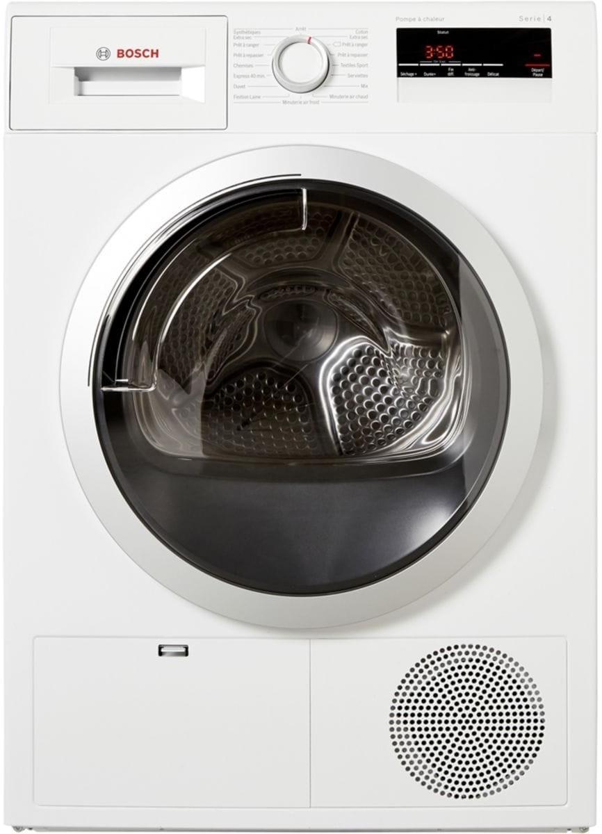 Sèche-linge à condensation - pompe à chaleur Bosch WTH85290FF - 8 kg, A++