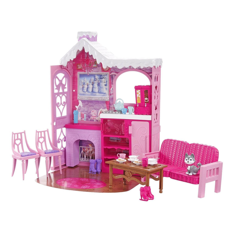 Maison de poupée Barbie BJN60 - Le Chalet