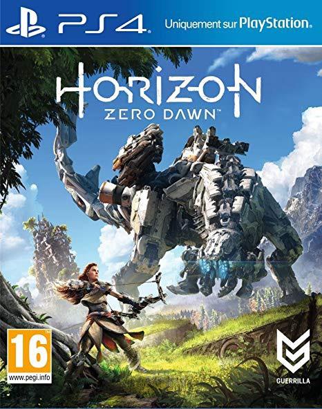 Jeux PS4 Horizon Zero Dawn