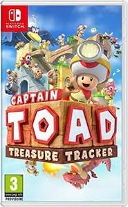 Captain Toad: Treasure Tracker sur Nintendo Switch