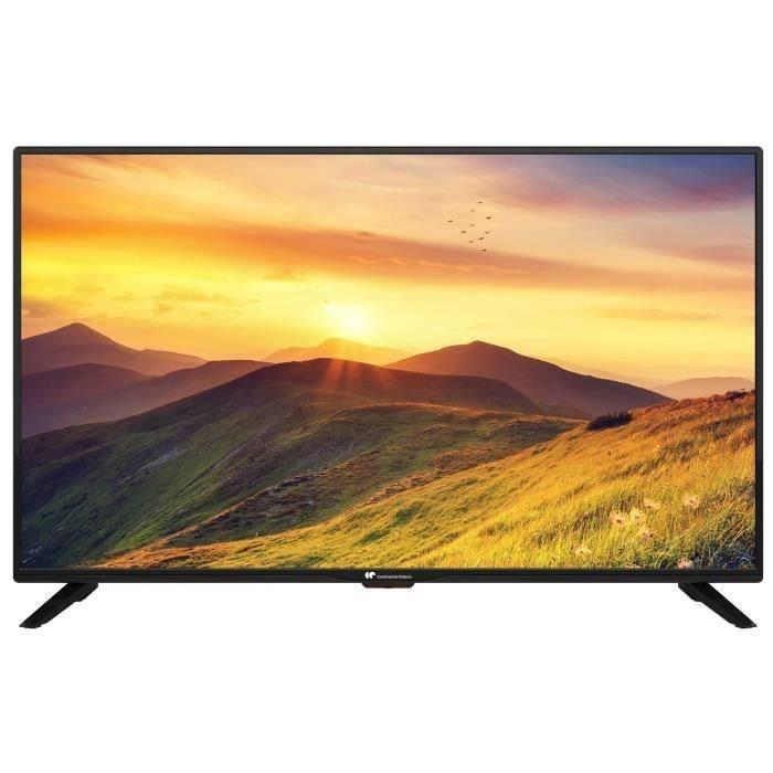"[CDAV] TV 43"" Continental Edison CELED434K1018B6 - LED, 4K UHD, 4 HDMI"