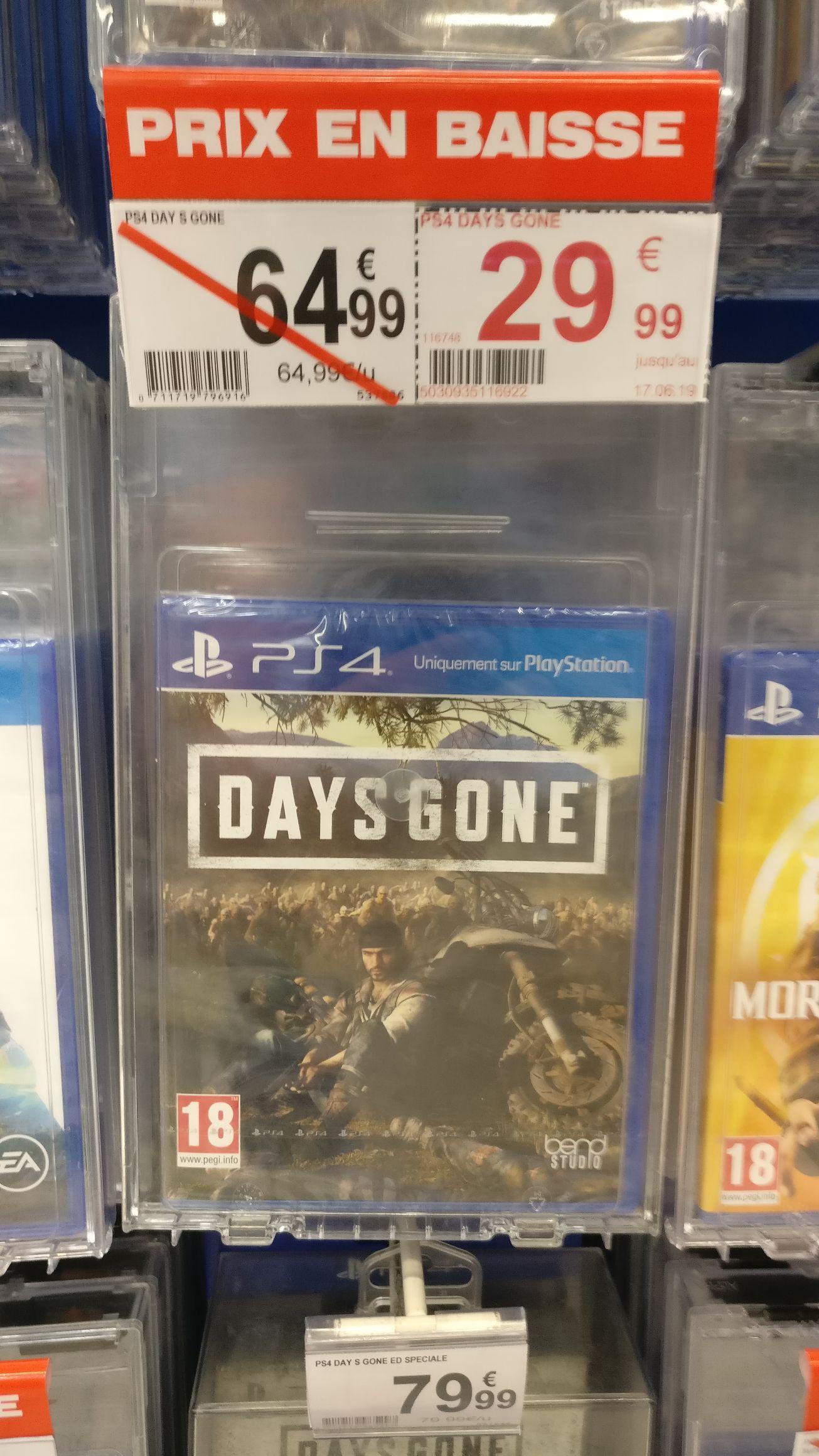 Days Gone sur PS4 - le Pontet (84)