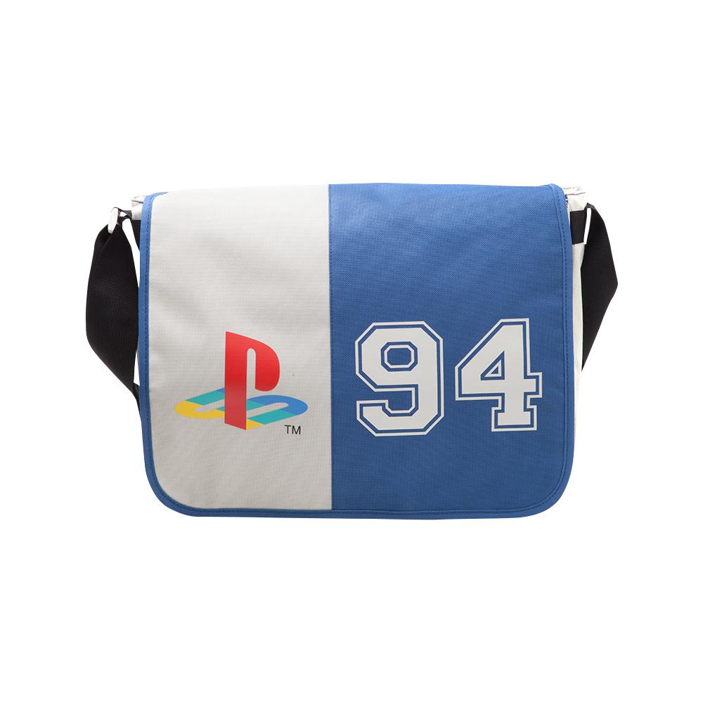 Lot console Sony PlayStation Classic + sac PlayStation 94 + porte-clés + cartes de jeu + goodies