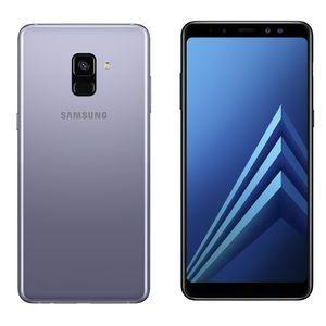 """Smartphone 5.6"""" Samsung Galaxy A8 (2018) - ull HD+, Exynos 7885, 4 Go de RAM, 32 Go (occasion comme neuf)"""