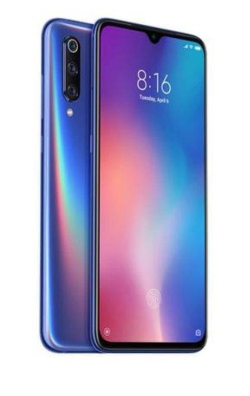 """[CDAV] Smartphone 6.39"""" Xiaomi Mi 9 - full HD+, SnapDragon 855, 6 Go de RAM, 128 Go, bleu (vendeur tiers)"""