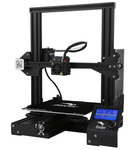 Imprimante 3D Creality3D Ender 3 - 220 x 220 x 250mm (Entrepôt France)