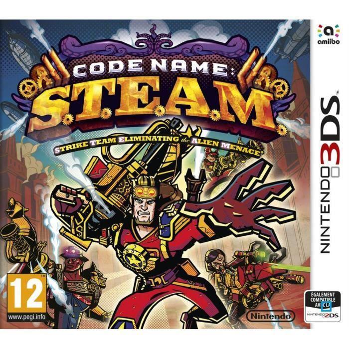 Sélection de Jeux en Promotion + Avantage Super Points - Ex : Code Name S.T.E.A.M. sur 3DS (+ jusqu'à 1.5€ en super points)