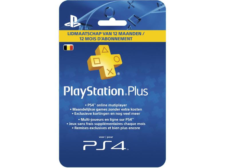 [Compte PS belge] Abonnement au Sony PlayStation Plus - 12 Mois (Frontaliers Belgique)