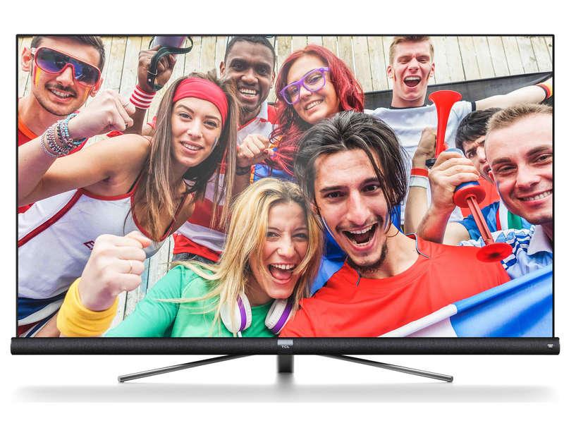 """[Carte Confo+] TV 65"""" TCL 65DC760 avec Barre de son JBL intégrée - LED, 4K UHD, HDR 10, Dalle VA, Android TV (Via ODR de 400€)"""
