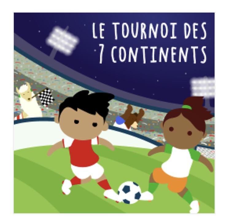 Histoire le tournoi des 7 continents pour la fabrique à histoire Lunii (lunii.fr)