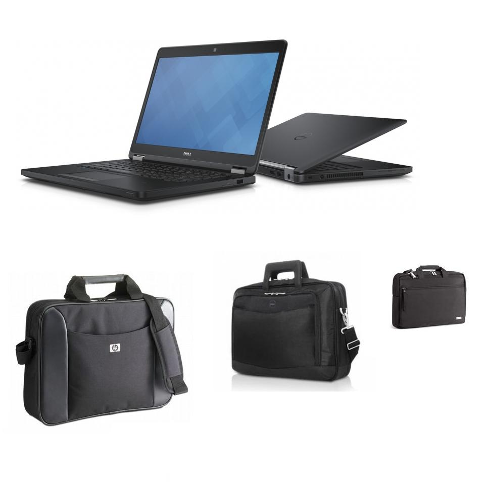"""PC Portable 14"""" Dell Latitude E5450 - HD, i5-5300U, RAM 8 Go, HDD 500 Go, Windows 10 (Reconditionné - Garantie 1 an) + Sacoche offerte"""
