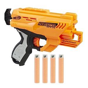 Pistolet à fléchettes Nerf Accustrike Quadrant (+ éventuelle Offre Spéciale)