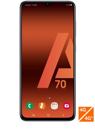 """Smartphone 6.7"""" Samsung Galaxy A70 - full HD+, SnapDragon 675, 6 Go de RAM, 128 Go, blanc ou noir"""