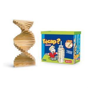 Set de construction JeuJura Técap Classic - 100 pièces, en bois