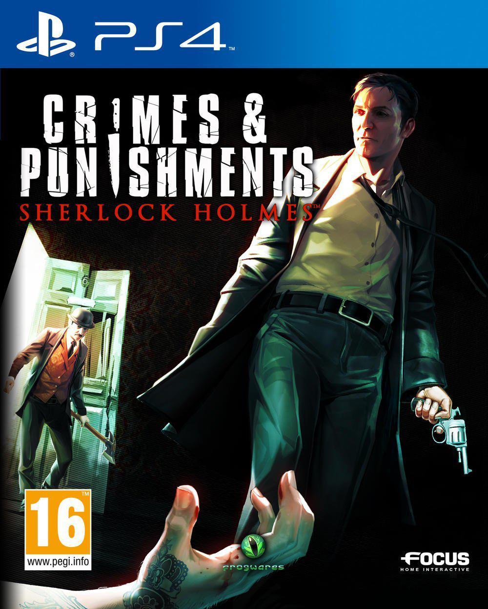 Jeu Sherlock Holmes : Crimes et châtiments sur PS4 et Xbox One