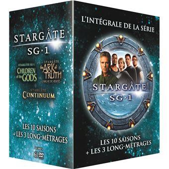 Coffret DVD Stargate SG-1 Saisons 1 à 10 + 3 films