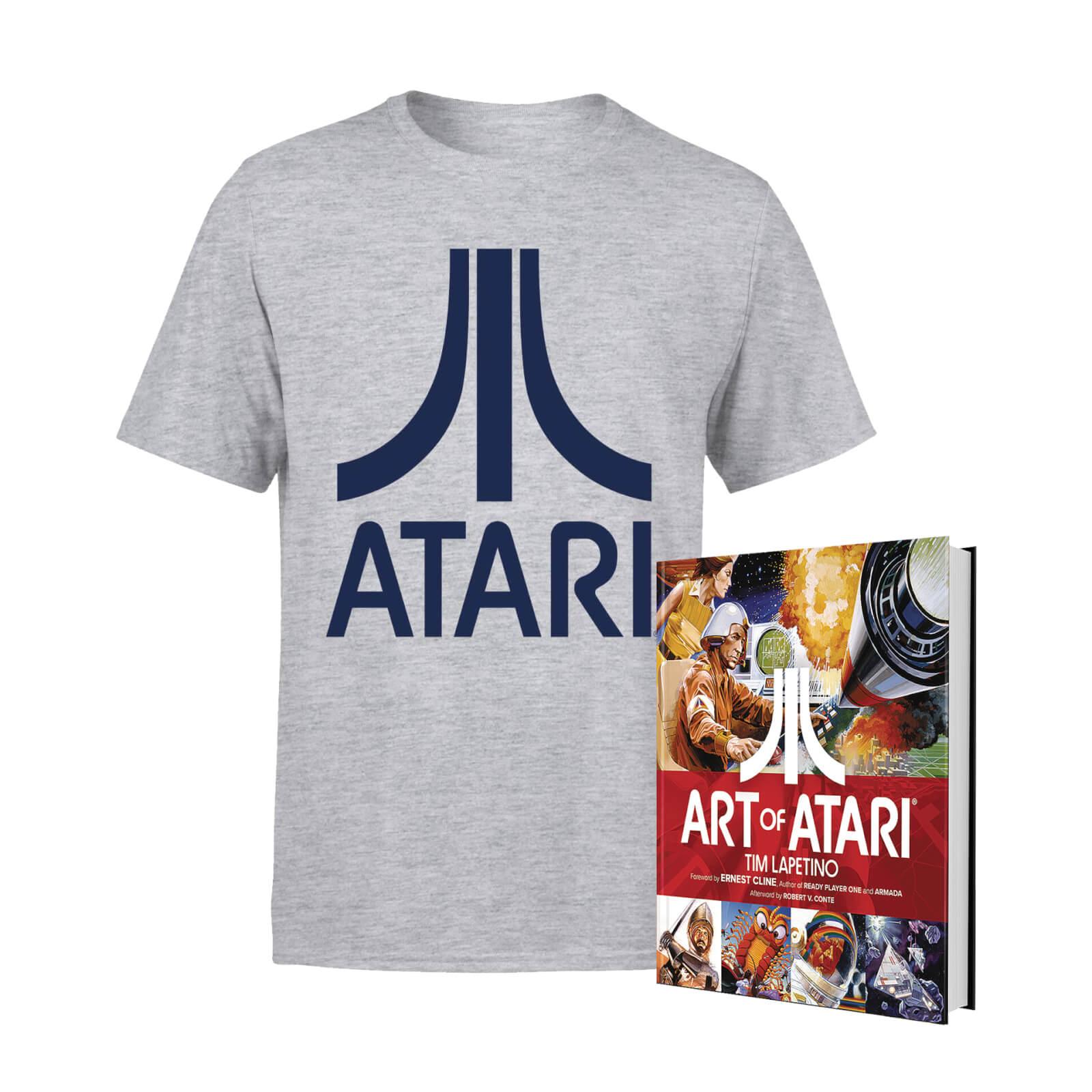 Lot Atari Officiel : T-shirt + Livre