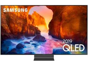 "TV QLED 65"" Samsung QE65Q90R (2019) - 4K, Full LED + Local Dimming, Smart TV"