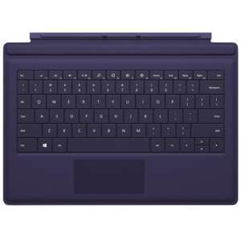 Clavier Rétroéclairé type Cover Microsoft Surface Pro 3 - Violet