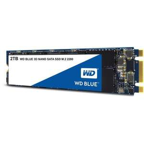 Western Digital WD Blue 3D NAND SSD, 500 Go, M.2 (Type 2280)