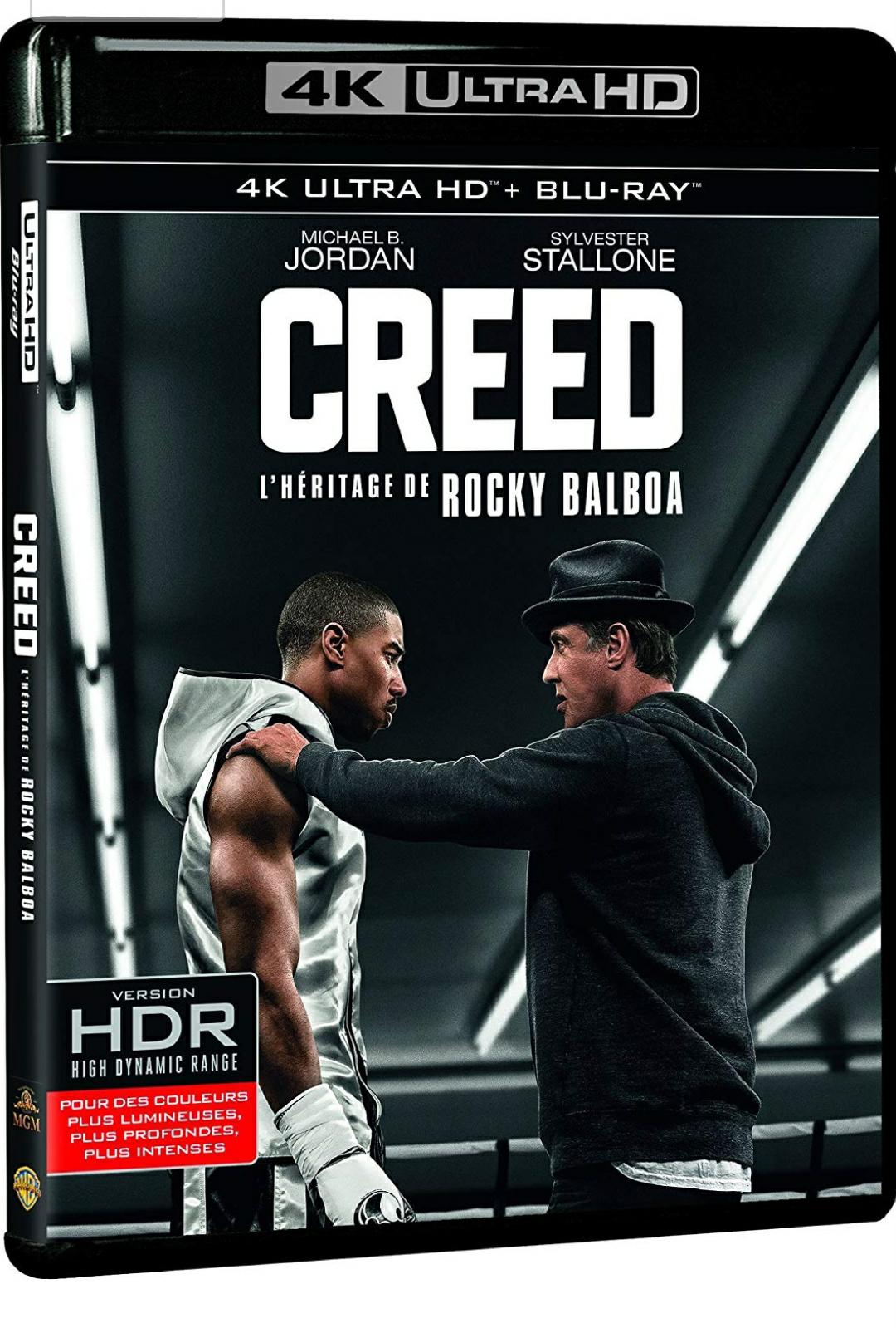 Sélection de Blu-ray 4K UHD en promotion - Ex: Creed à (Vendeur tiers)