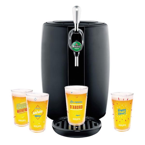 Machine à bière SEB YY4144FD (20€ sur le compte de fidélité + 40€ d'ODR)