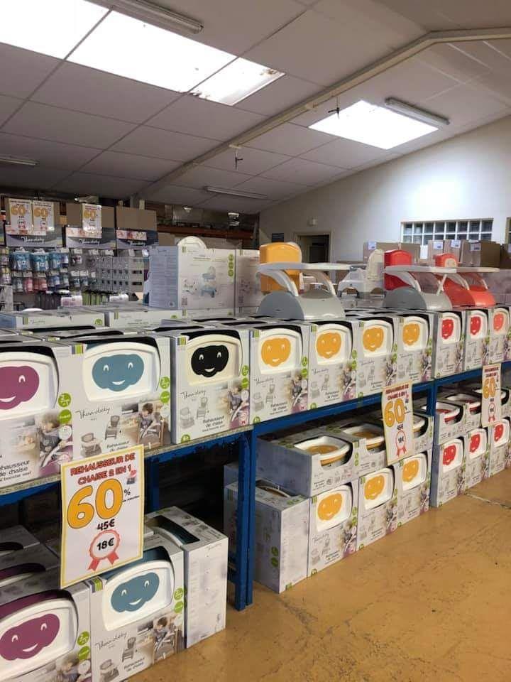 60% de réduction sur tout le magasin - Thermobaby Auray (56)