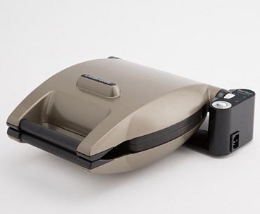 Gaufrier Lagrange Premium Gaufres - 2 gaugfres - 1200 W - noir et gris anthracite