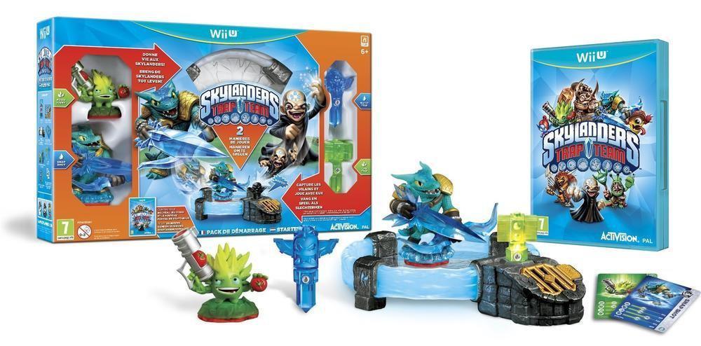 Pack de démarrage Skylanders : Trap Team sur Wii U