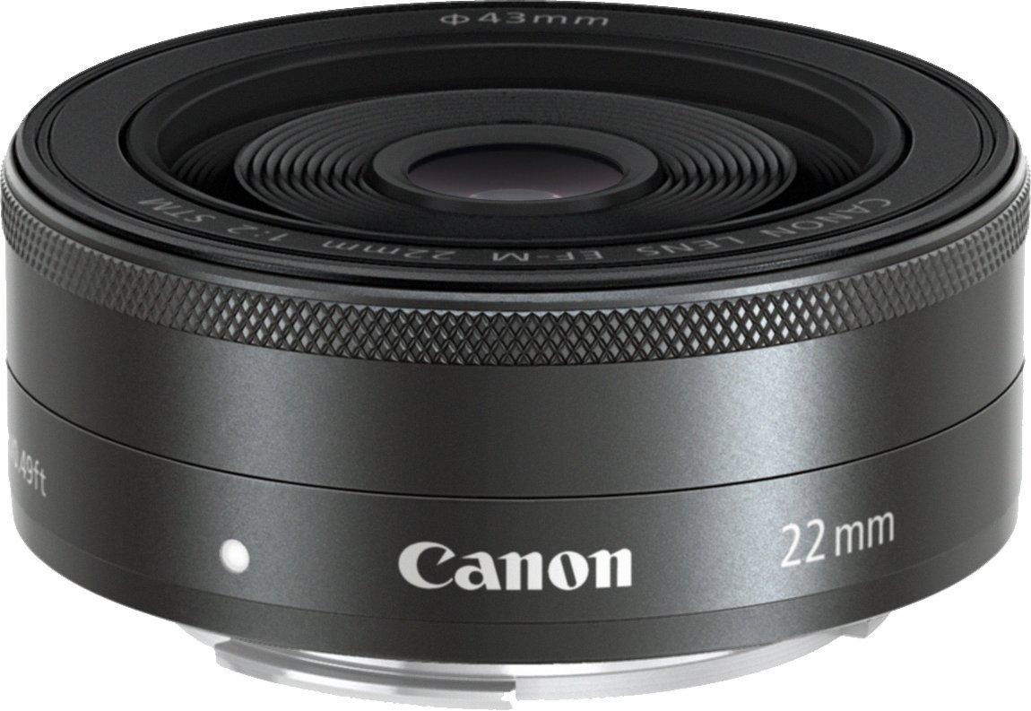 Objectif Canon EF-M 22mm f/2 STM - Noir