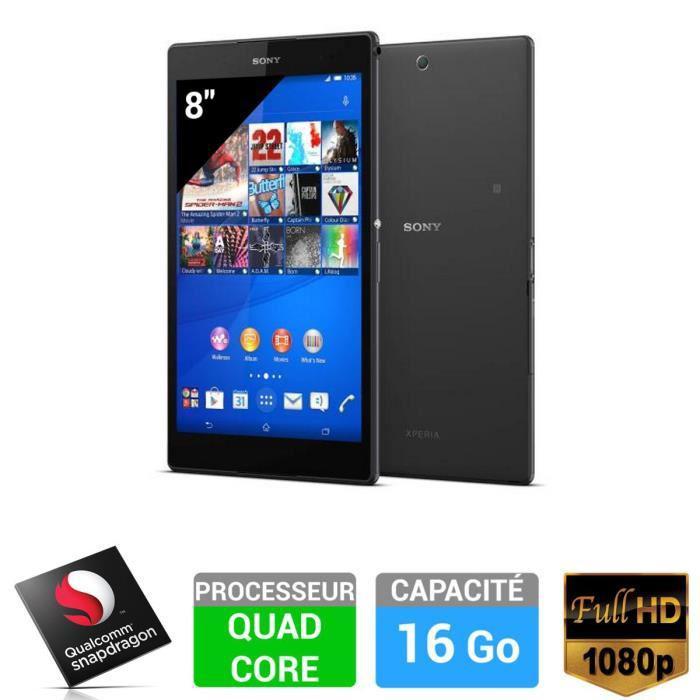 "Tablette 8"" Sony Xperia Z3 Compact - 16 Go Wifi"