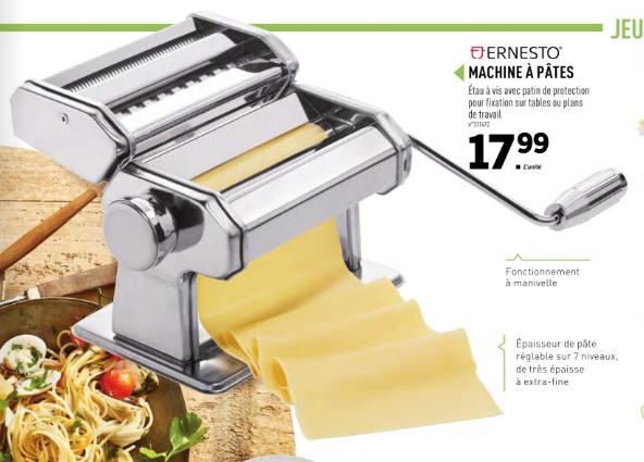 Machine à pâtes Ernesto