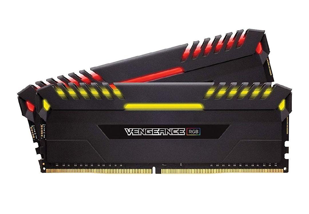 Kit RAM Corsair Vengeance RGB 16 Go (2x8Go), DDR4, 3000MHz, C15, XMP 2.0